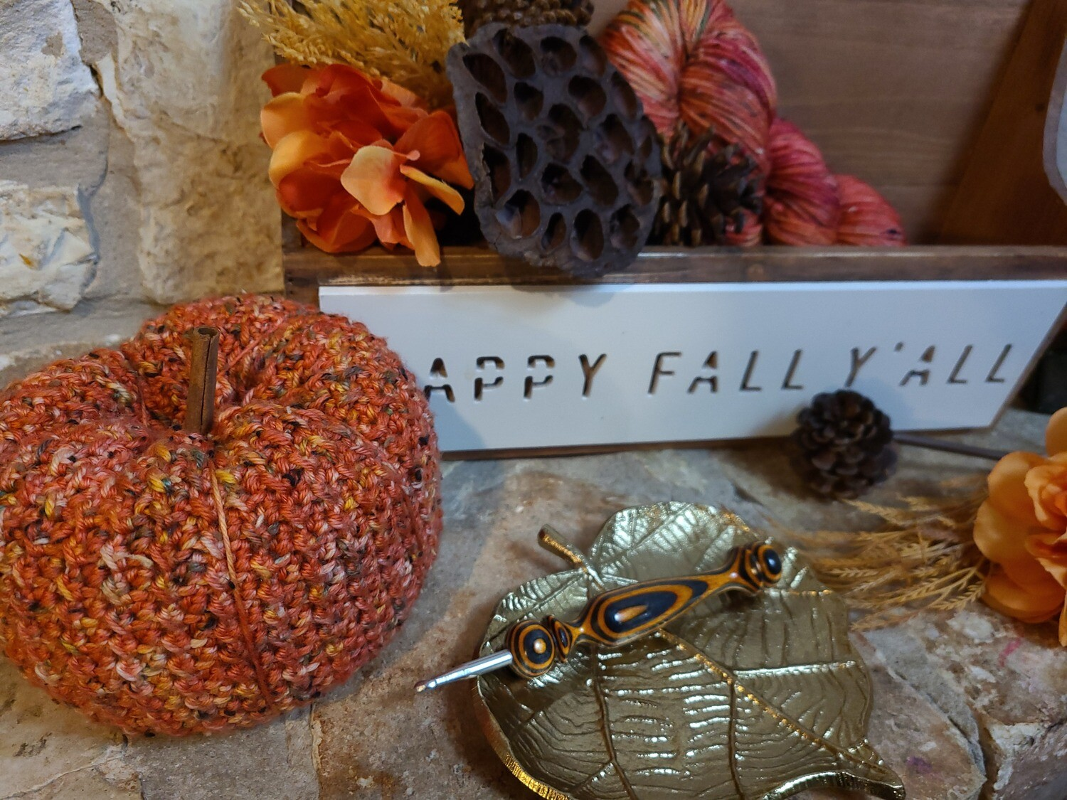 Countryside Pumpkin Crochet Pattern