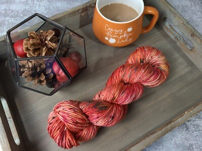 Pumpkin Hand Dyed Yarn