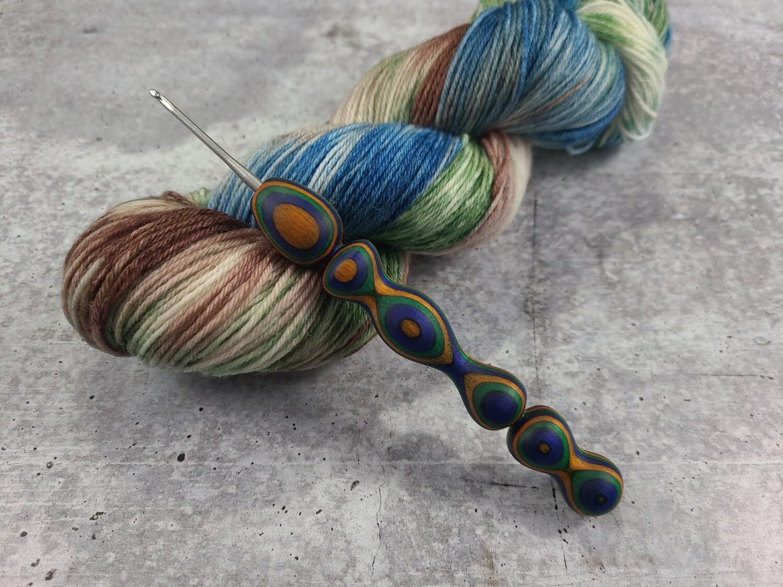Peacock Crochet Hook