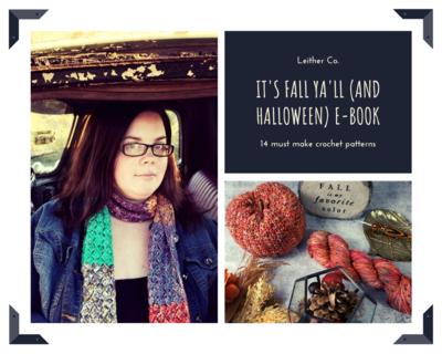 It's Fall Ya'll (and Halloween) E-Book