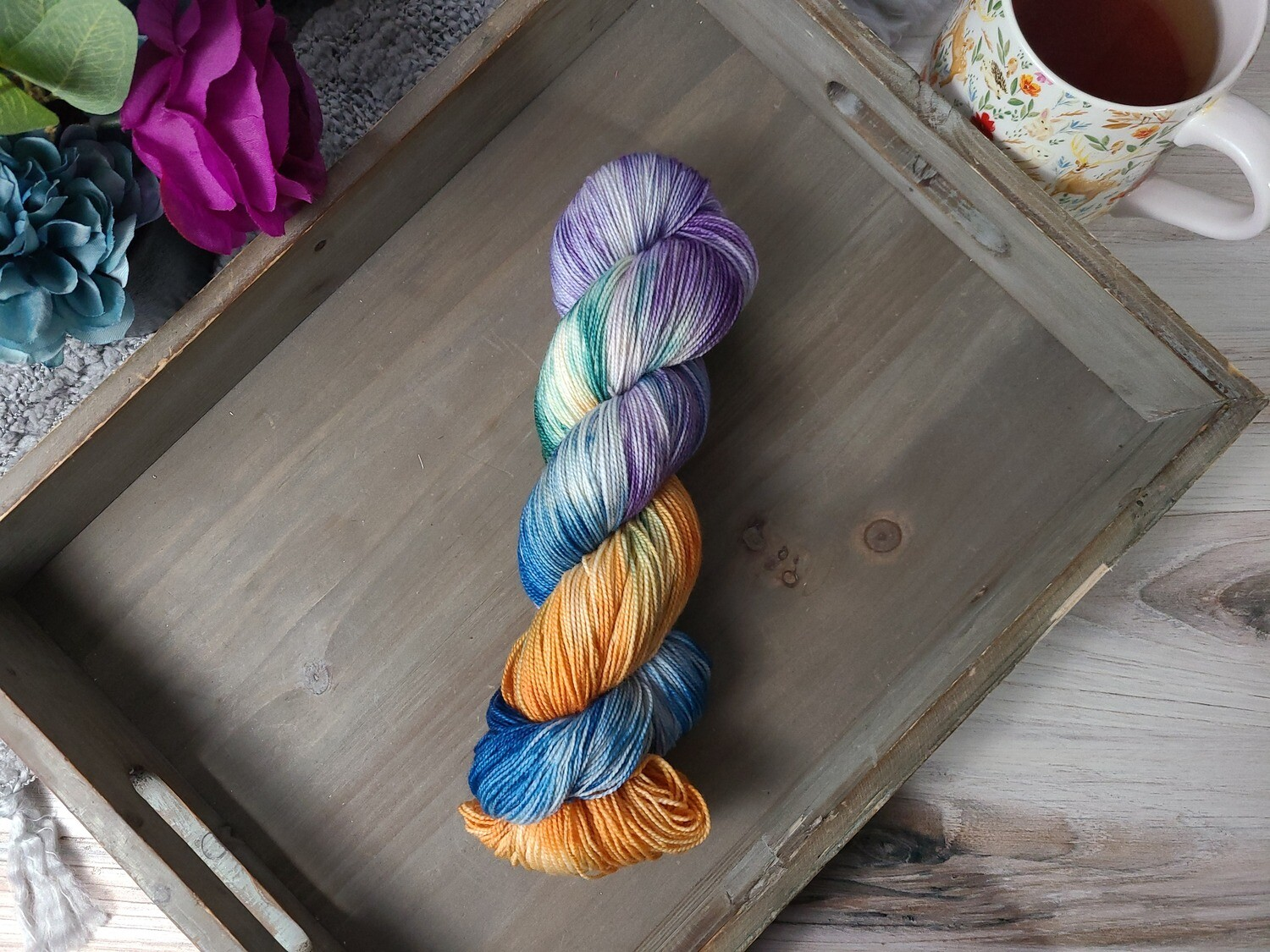 Sleepy Hollow Hand Dyed Yarn
