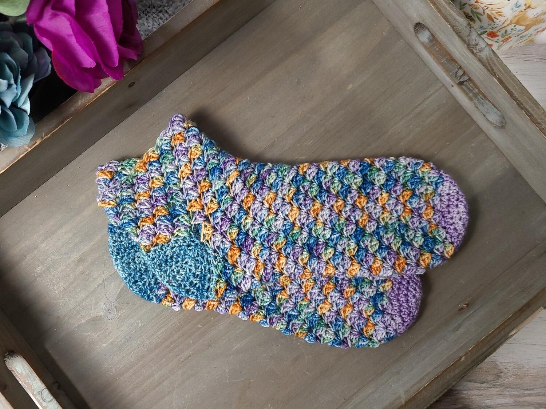 Sleepy Hollow Socks Crochet Pattern