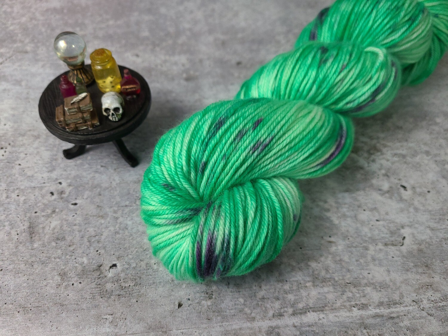 Frankenstein Hand Dyed Yarn