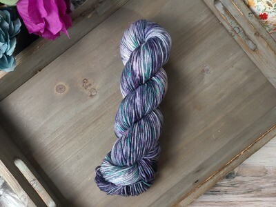 Beetlejuice Hand Dyed Yarn