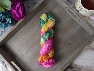 Tropics (Sport) Hand Dyed Yarn