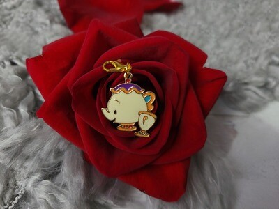 Enchanted Mrs. Potts and Chip Stitch Marker