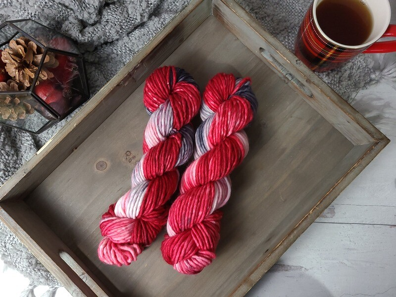 Ladybug (Bulky) Hand Dyed Yarn