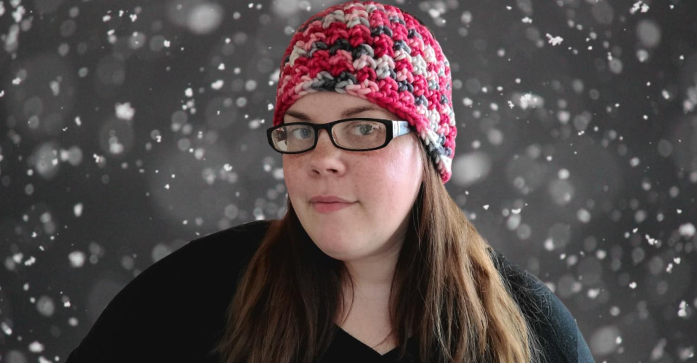 Ladybug Ear Warmer Crochet Pattern