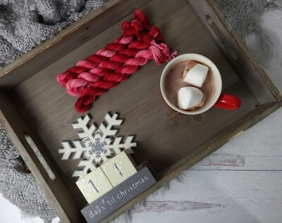 Christmas Stockings Hand Dyed Yarn