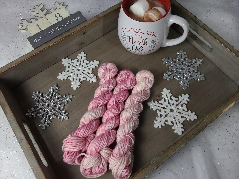 Sweet Blush Hand Dyed Yarn