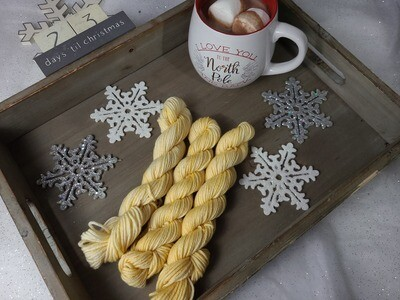 Honey Hand Dyed Yarn