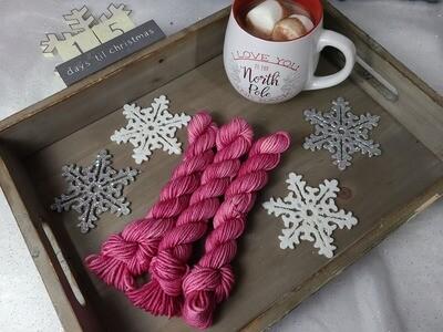 Amethyst Hand Dyed Yarn