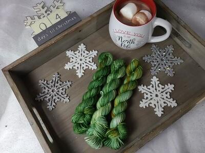Avocado Green Hand Dyed Yarn