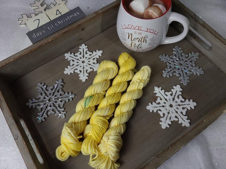 Sunflower Hand Dyed Yarn