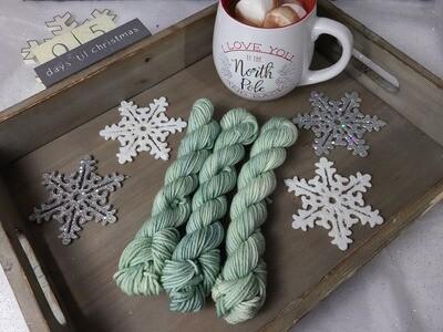 Sage Hand Dyed Yarn
