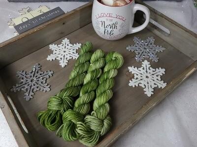 Moss Hand Dyed Yarn