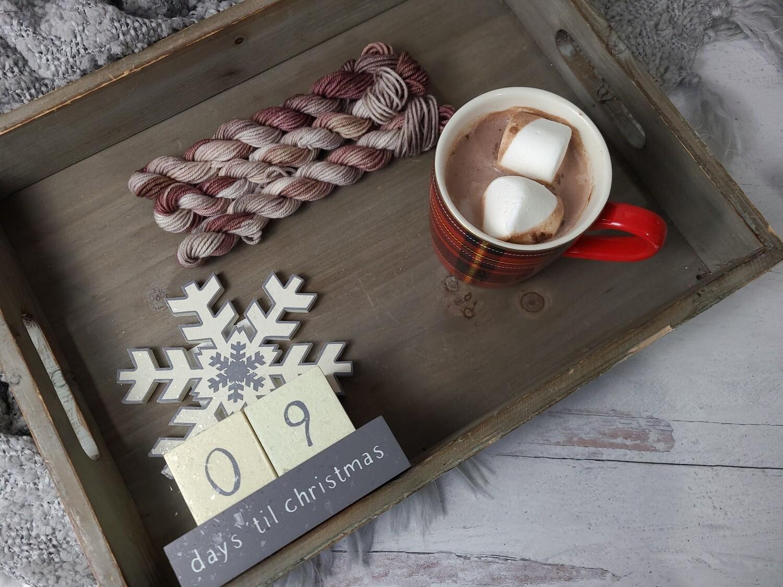 Hot Chocolate Hand Dyed Yarn