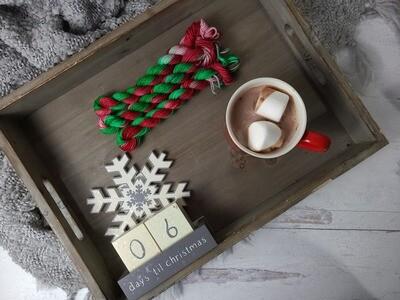 Christmas Presents Hand Dyed Yarn