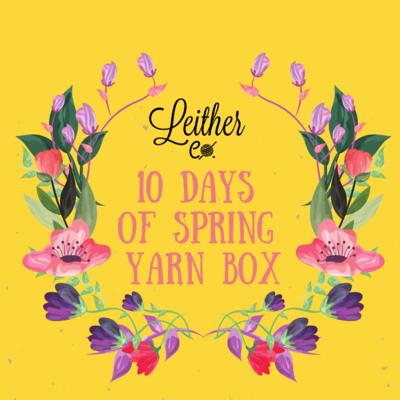 10 Days of Spring Yarn Box