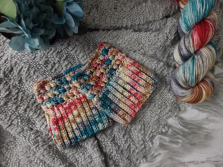 London Boot Cuffs Crochet Kit