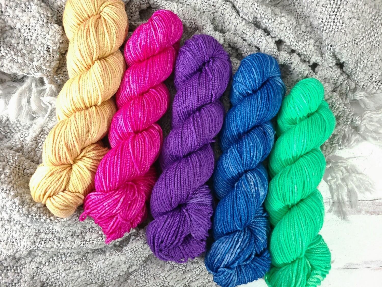 Northern Lights Shawl Crochet Kit