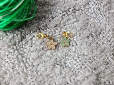 Flower Stitch Marker Set