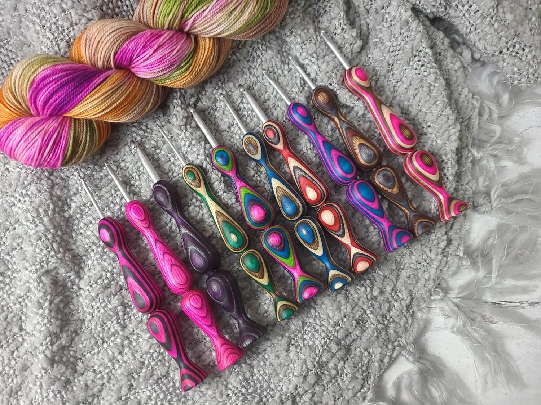 Turtle Bay Crochet Hook Custom 10 Piece Set
