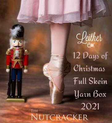 12 Days of Christmas Full Skein Yarn Box