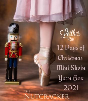 12 Days of Christmas Mini Skein Yarn Box