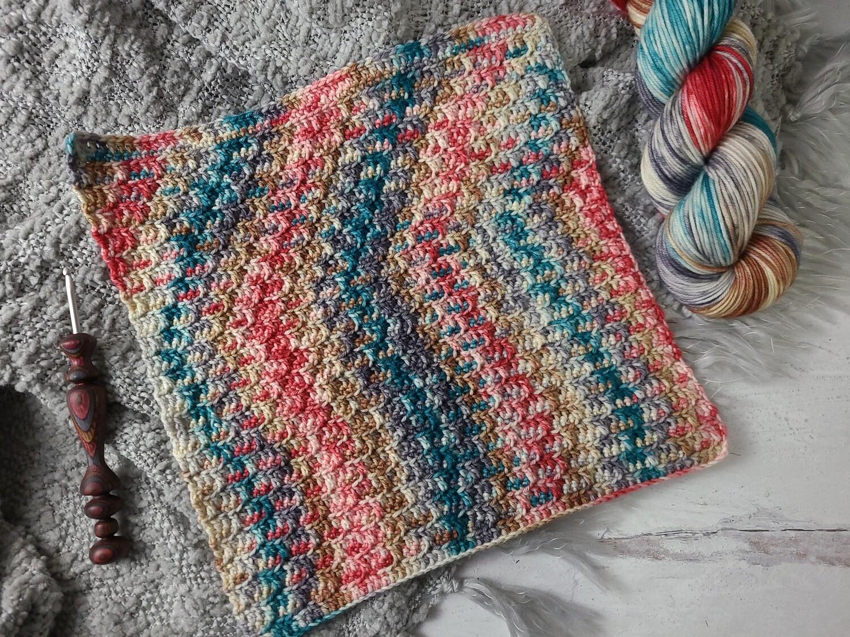 Square #2 London Crochet Square (Destination Blanket) PDF