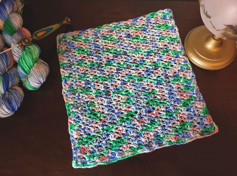 Square #7 Italy Crochet Square (Destination Blanket)