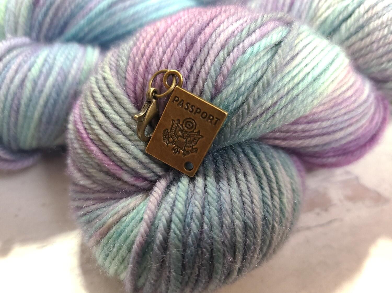 Crochet Passport Stitch Marker