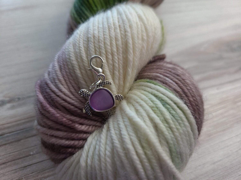 Purple Turtle Stitch Marker