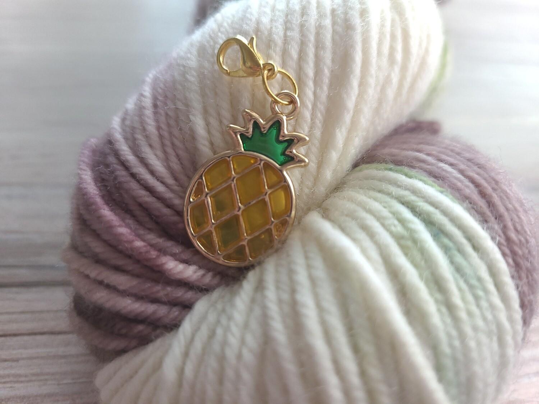 Pineapple Gold Stitch Marker