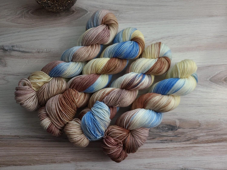 Sandy Beach Hand Dyed Yarn Summer Collection