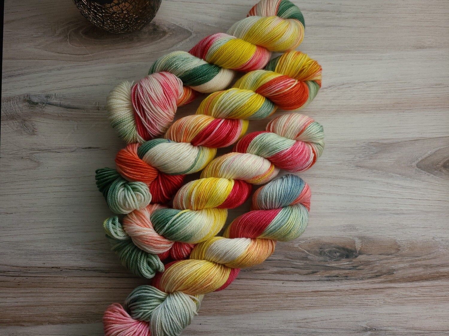 Carnival Hand Dyed Yarn Summer Collection