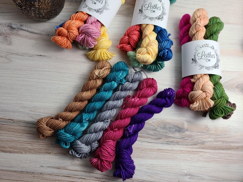 Mystery Mini Hand Dyed Yarn Set