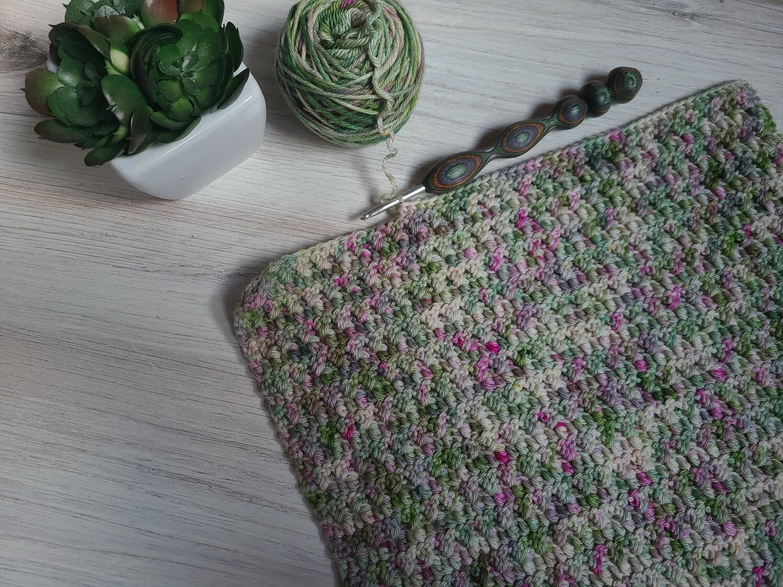 Square #11 Ireland Crochet Square (Destination Blanket)