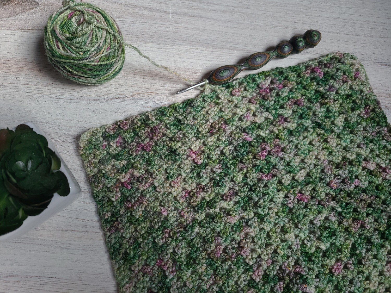 Square #10 Ireland Crochet Square (Destination Blanket)