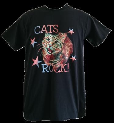 Cats Rock! Unisex T-Shirt