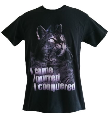 I Came I Purred I Conquered