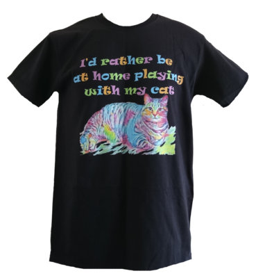I'd Rather Be At Home Unisex T-Shirt