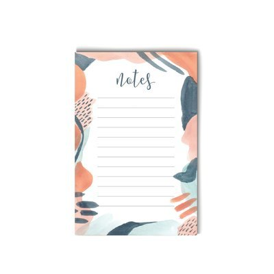 Painted notes Notepad