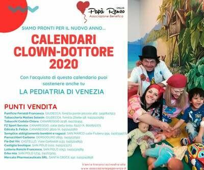 Calendario CLOWN-Dottori 2020