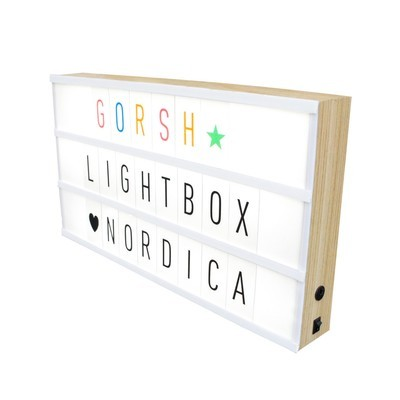 Lightbox Nordica 40 x 22 x 5 cm