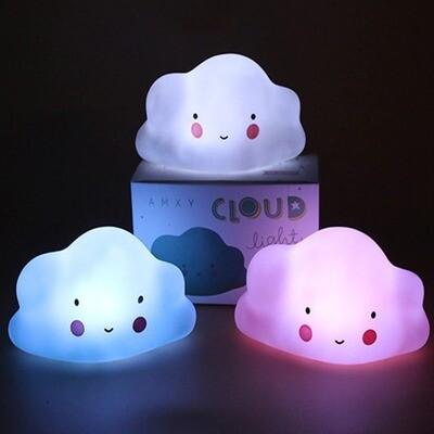 Lampara Velador Nube