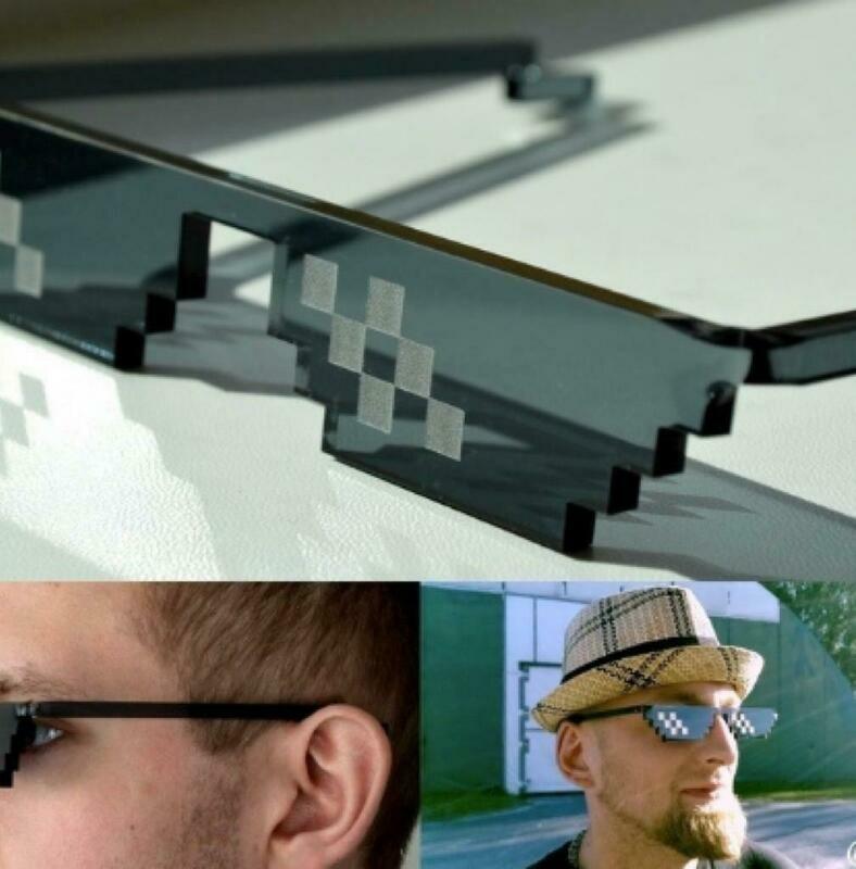 Anteojos Pixel Thug Life