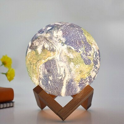 Lampara Planeta Tierra
