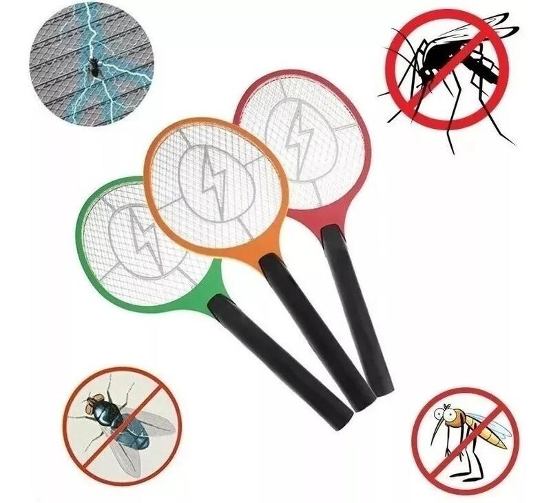Raqueta Mata Mosquitos a Bateria