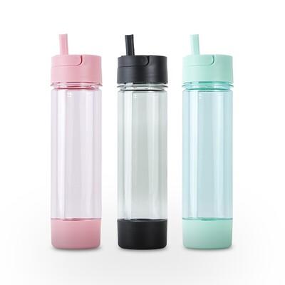 Botella Deportiva plástica con pico y base desmontable 750 ml